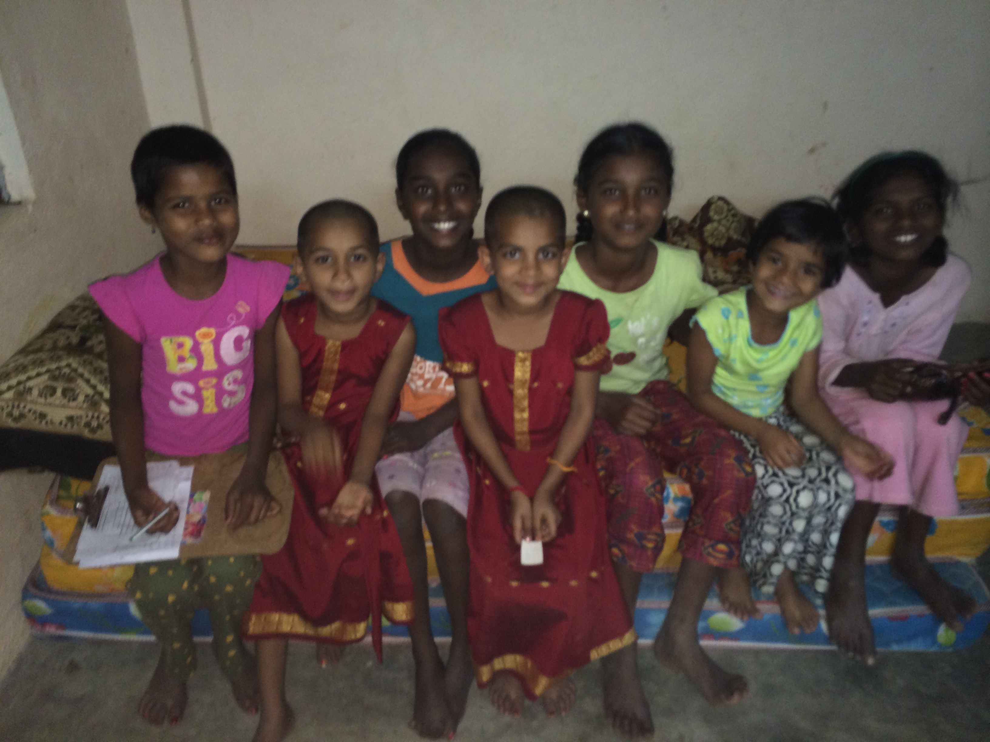 Children from Sarampet