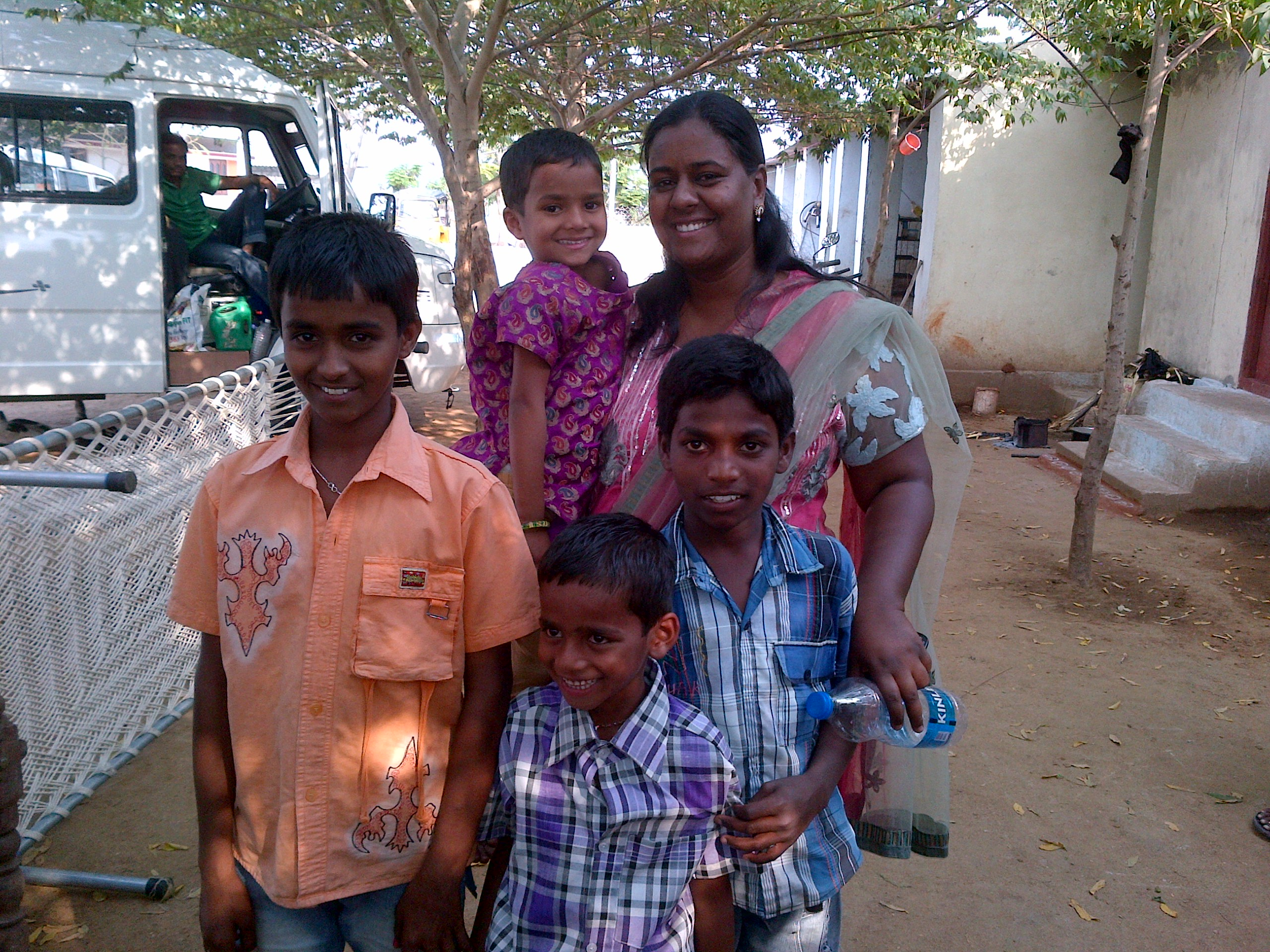 India – Sarampet – First 4 Children